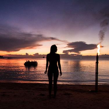 Beach girl Koh Tao